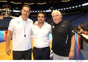 אורן קובי עם גיא גודס ופיני גרשון